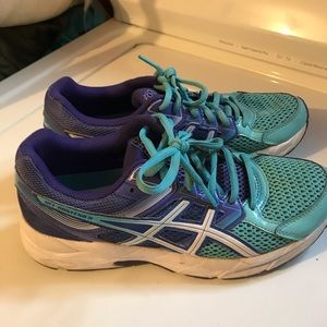 Asics Shoes - ASICS gel contend 3 size 7 women's running purple